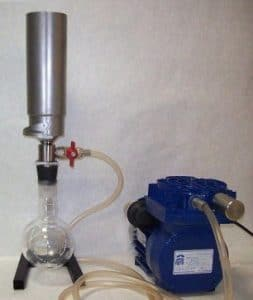 Прибор вакуумного фильтрования ПВФ-35/1 ХВ-Ф