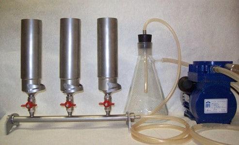 Прибор вакуумного фильтрования ПВФ-35/3 Б