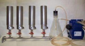 Прибор вакуумного фильтрования ПВФ-35/4 НБ