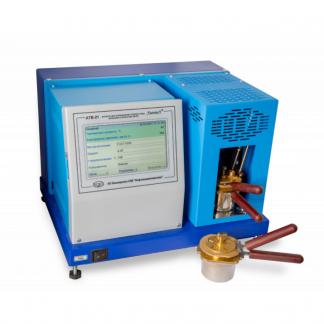 Аппараты для определения температуры вспышки в закрытом тигле