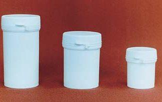 Банка круглая фармацевтическая 150 мл натуральная с крышкой ПП