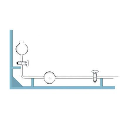 Бюретка БСГ д/изм.объема газа