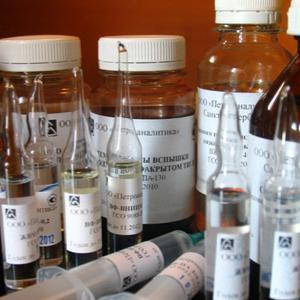 ГСО Нефтепродукты в CСl4  ГСО 7554-99 (50 мг/см3)