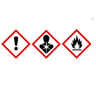 Предупредительные знаки LLG-GHS, самоклеящиеся, рулон или коробка