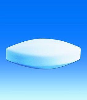 Якорь д/магнитной мешалки фторопластовый овальный 20*10 (Brand 137302)