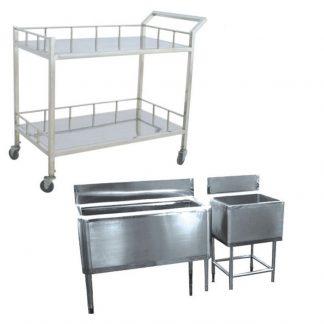 Мебель из нержавеющей стали для ветеринарных лабораторий и вивариев