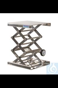 Столик подъемный лабораторный MAXI 200х200 мм