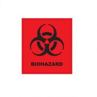 LLG Самоклеящиеся этикетки Биологическая опасность