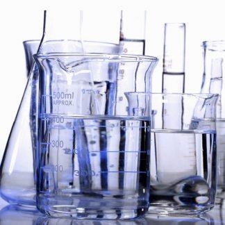 Лабораторная посуда из фарфора и кварца