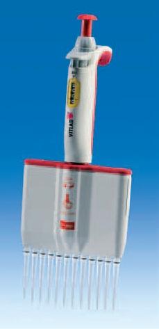 Дозатор пипеточный 12-канальный VITLAB micropipette-12 (10 - 100 мкл)