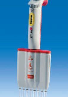 Дозатор пипеточный 8-канальный VITLAB micropipette-8 (30 - 300 мкл)