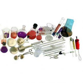 Посуда и принадлежности для опытов по биологии