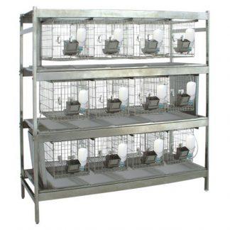 Стеллажи для клеток для лабораторных кроликов