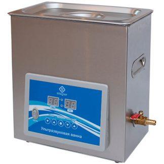 Ультразвуковая ванна (мойка) Stegler 6DT (6 л